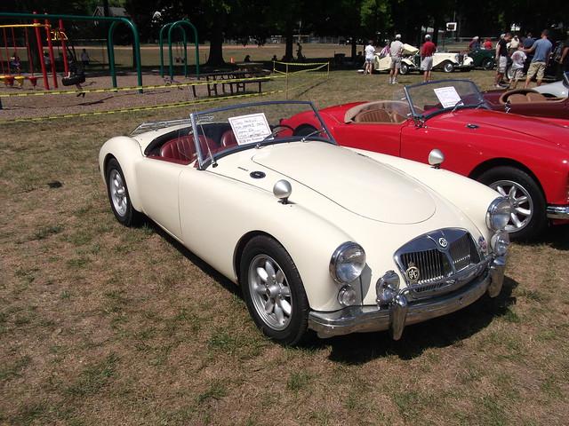 British Car Show Zionsville Indiana