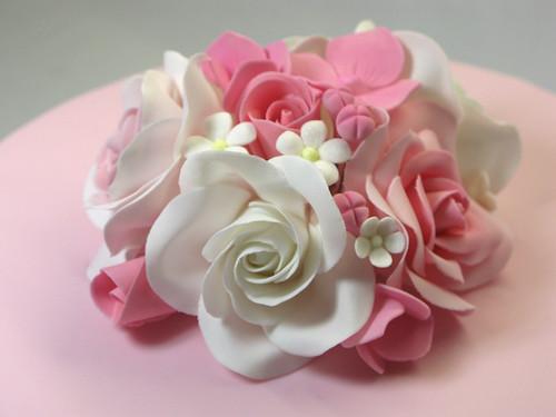 Sugar flower topper