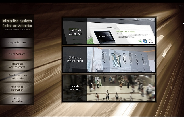 iNFO Interactive presentation software