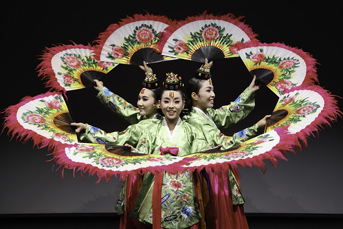 Traditional Korean dance