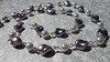 Grey Purple Oscars Necklace