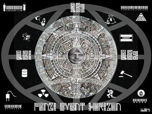 PONZI EVENT HORIZON by Colonel Flick