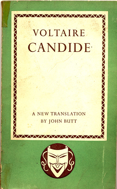 an analysis of voltaires satire candide The main method of candide's satire is to contrast ironically great tragedy and comedy  the conclusion is enigmatic and its analysis is contentious.