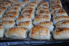 Bourekas in the Carmel Market, Tel Aviv by Katherine Martinelli, on Flickr