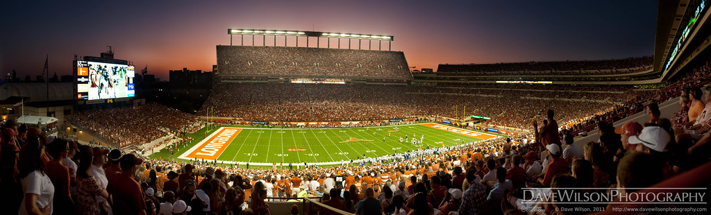Texas Memorial Stadium Panorama