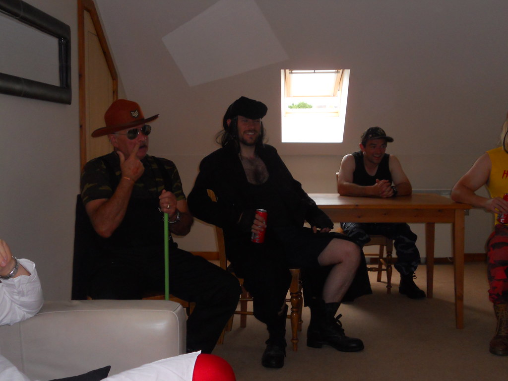 Sergeant Delme Slaugher, The Undertaker and Bushwacker Hefin