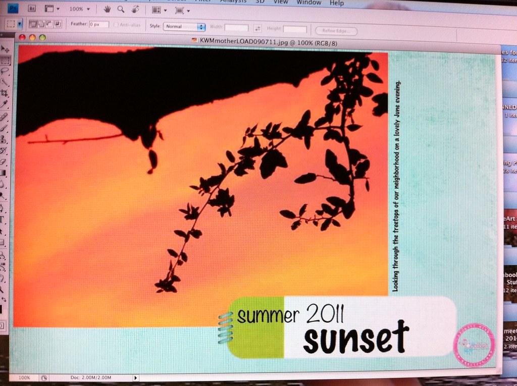 Day 7 - Summer Sunset