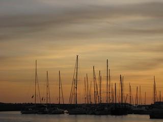Harbour at dusk [Quarta sunset]