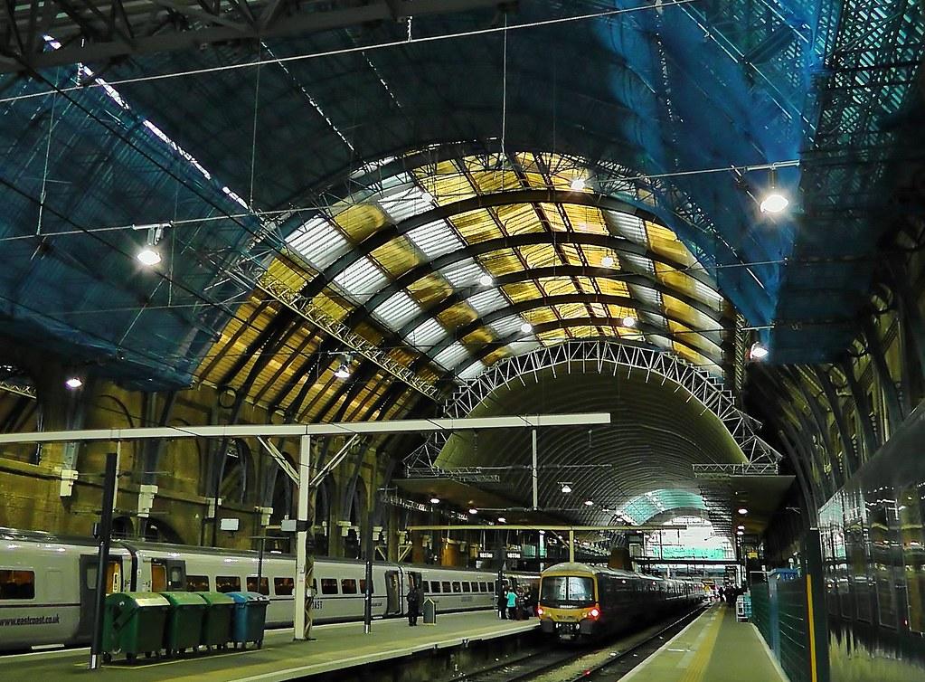 London Kings Cross Redevelopment - Station Roof Restoration - 15th September 2011