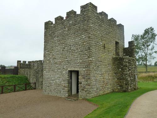 Replica Wall Turret, Vindolanda