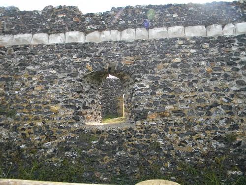 Clifftop ruin