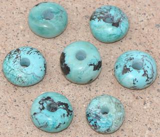 Handmade Smithsonite Beads