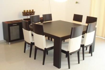 Juegos de comedor for Juego de comedor de 8 sillas moderno