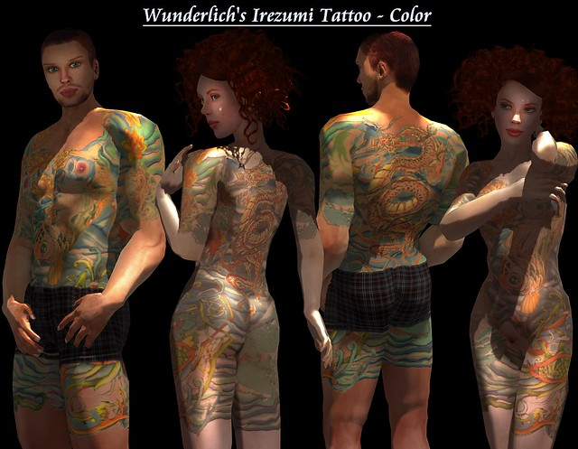 This tattoo suit for SL