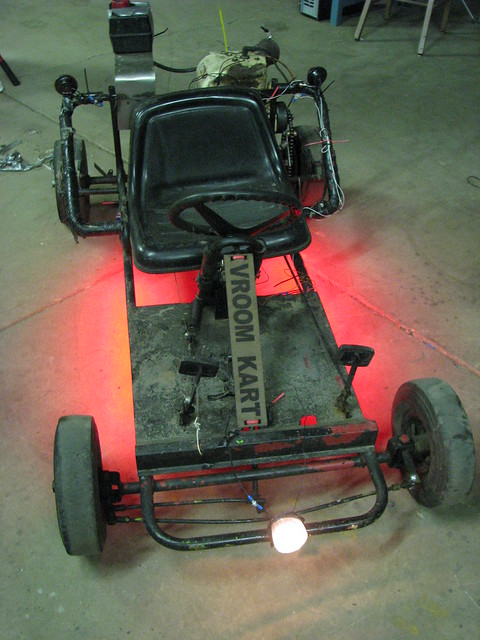 Ground effects go cart
