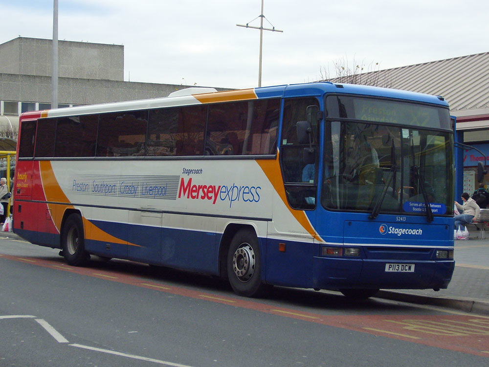 Stagecoach North West 52413 P113 DCW
