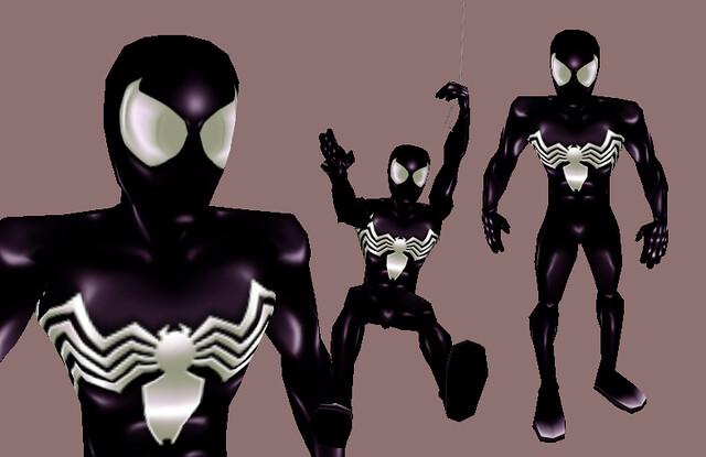 Ultimate Spiderman Black Suit Ultimate Spider-Man (B...