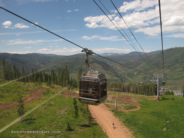 Vail in Summer_Ski Slope Gondola 2