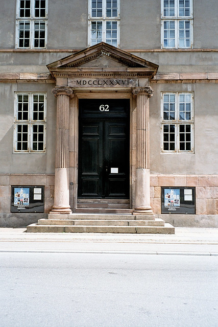 Front entrance of the Academy