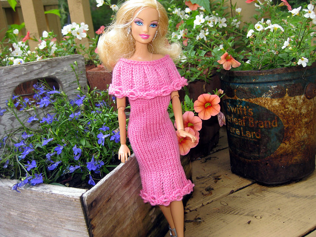 Barbie Knit Pattern | Patterns Gallery