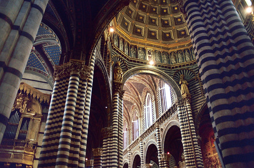 Interior of Siena Church