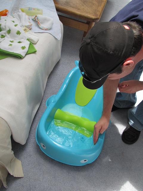 Testin the water