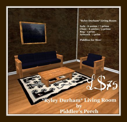 Perch sitter news a release and 2 day sale piddler 39 s for Living room 7 letters