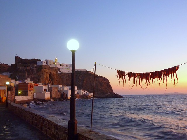 Mandraki, capital of Nisyros