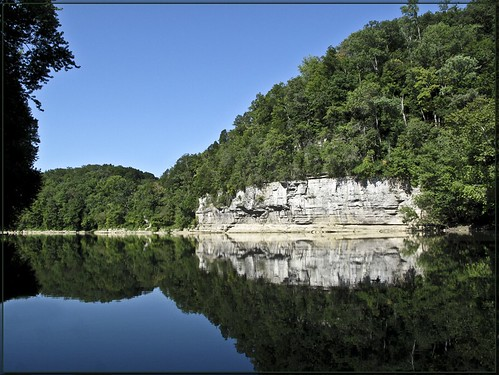 blue river landscape kentucky