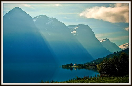 Norwegen - a magical morning