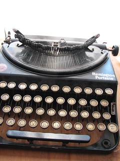 Patrick's Remington Typewriter