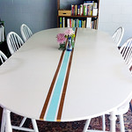 DIY Retro Surf Table