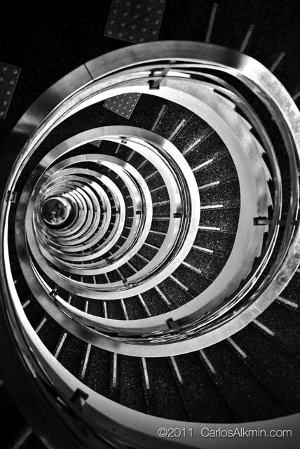 Caracol / Spiral Staircase in Sao Paulo