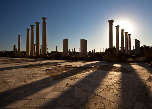old city sunset shadow history canon eos site ancient ruins mediterranean roman north columns ruin cyprus sigma 7d gymnasium archeological hellenistic famagusta salamis 816 salamina colorphotoaward touraroundtheworld bestcapturesaoi