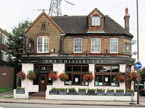 The Colliers Tup Pub, Colliers Wood - London.