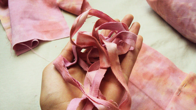 scraps in pink