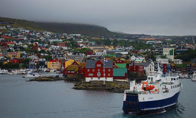 Torshavn, Faroe Island