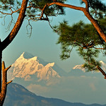 Evening over kumaon range