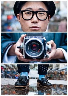 Triptychs of Strangers #20, The Analog Lover - London