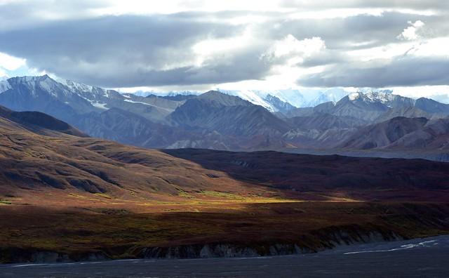 Landscape - Autumn in Denali - Mountains - Alaska