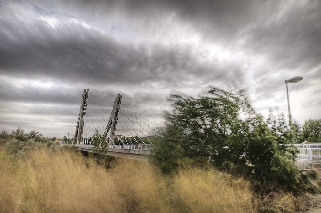 Viento - Puente de la Hispanidad (Valladolid)