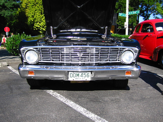 1964 Ford Falcon 4 Door likewise 1964 Ford Falcon Sprint as well Ford 3 Speed Overdrive Transmission as well 1964 Chevy II Nova further 1964 Ford Falcon Ranchero Restomod For Sale Passenger Front Flickr. on 1964 ford falcon