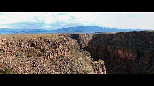 panorama newmexico gorge taos riogrande taosgorgebridge