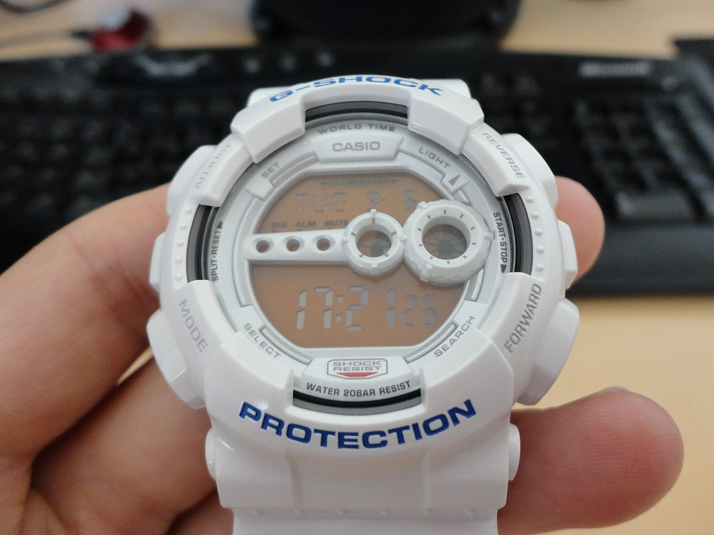 Casio G-Shock GD-100SC - a photo on Flickriver c7839bba67