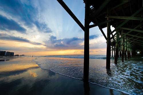 ocean beach sc sunrise myrtlebeach nikon southcarolina d700 nikond700