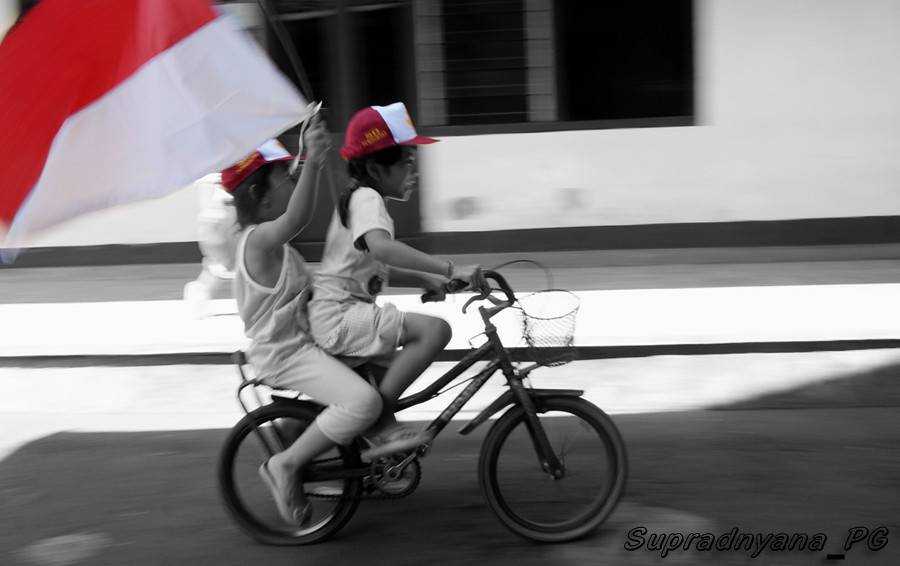 Semangat Merah Putih by Ig. Ngr. Dwija Supradnyana