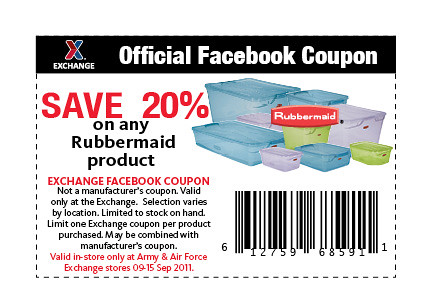 Rubbermaid Coupon website view Rubbermaid has been providing households with high quality storage products for decades, and they continue to expand their inventory while improving their merchandise. Homeowners rely on Rubbermaid products to help them organize and store their important items in every room in the house.