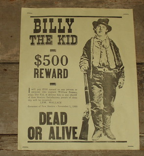 Wanted Dead or Alive: Billy the Kid