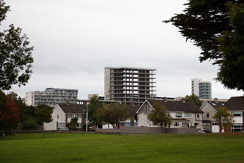 The Sentinel, Sandyford from Kilmacud Road Upper