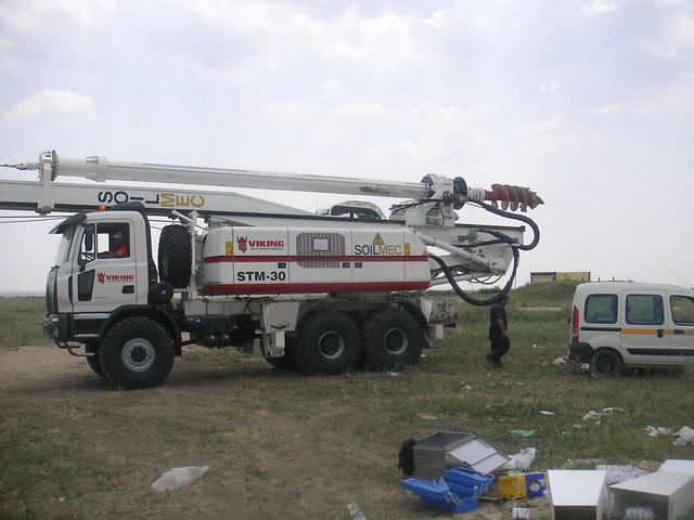 Tekirdağ - ERKE Servis - Soilmec STM-30 - Viking Petrol Arama